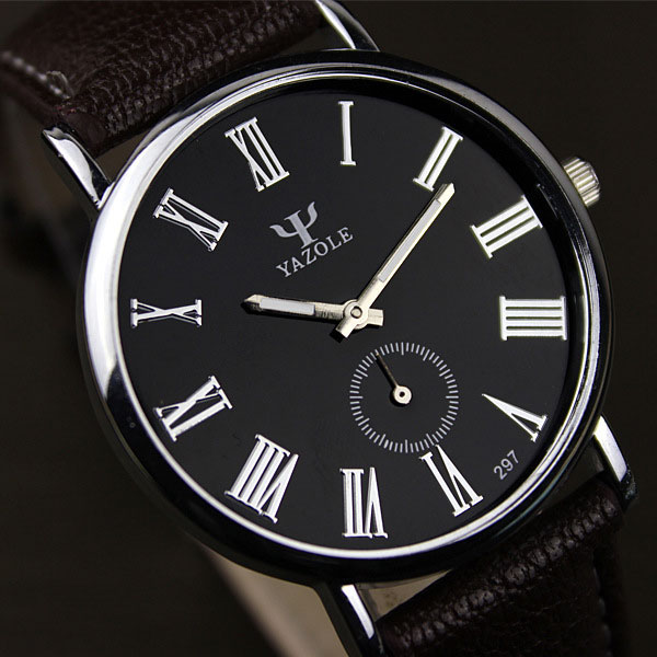 YAZOLE 2016 Quartz Watch Men Top Brand Luxury Leather Wrist Male Clock Relogio Masculino Relog Hodinky Panske Ceasuri Barbati yazole wrist watches quartz watch men top brand luxury famous male clock quartz watch relogio masculino relog hodinky ceasuri
