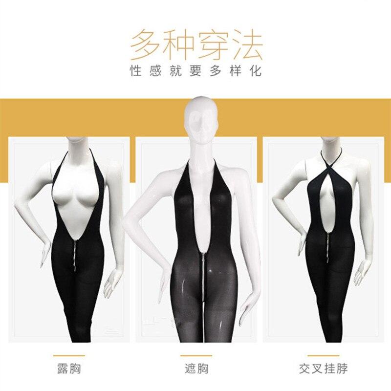 Closeout DealsErotic Lingerie Underwear Babydoll-Dress Open-Bra Porn Sexy Costumes Deep-V-Neck Transparent
