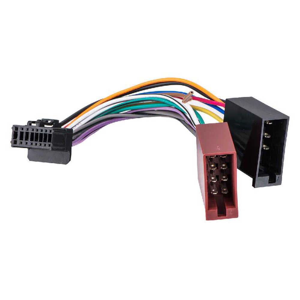 medium resolution of biurlink car factory harness wire 16pin port transfer to iso 8pin stereo harness wire cable for