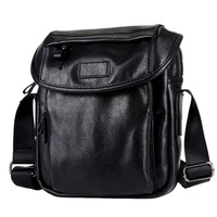 2017 Leather Men Shoulder Bag High Quality Casual Business Crossbody Bags For Men Waterproof Crossbody Bags