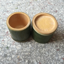 Handmade Tabletop Natural Bamboo Vases