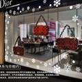 2016 etiquetas da janela do floco de neve de Natal ano novo Loja área pública casa decoração da janela adesivos top venda freeshipping