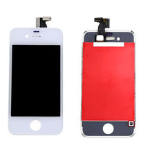 LCD Touch Screen White Accessory Bundles Digitizer Front Glass Assembly Replacement For iPhone 4S