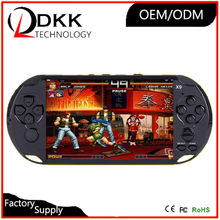 New Arrival big 5 inch screen handheld game console portable with hundreds free different games for GBA NES games TV out