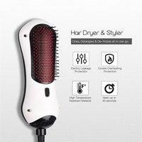 Infrared Ionic Hair Brush Anti frizz Detangle Comb Blower Tangle Electric Hairbrush Scalp Massage Hair Straightener Curler 38