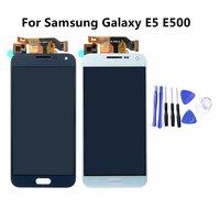 For Samsung Galaxy E5 E500 E500F E500H E500M Touch Screen Panel Digitizer Sensor Glass LCD Display