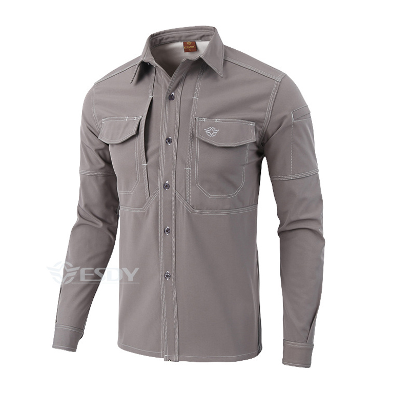 Spring&Autumn Military Style Mens Softshell Army Tactical Shirts Outdoor Sport Warm Long Sleeve Fleece Shirt