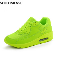 2016 New Fashion Running Shoes Super Light Woman Athletic Shoes Brand Sport Shoes Sneakers Outdoors Running