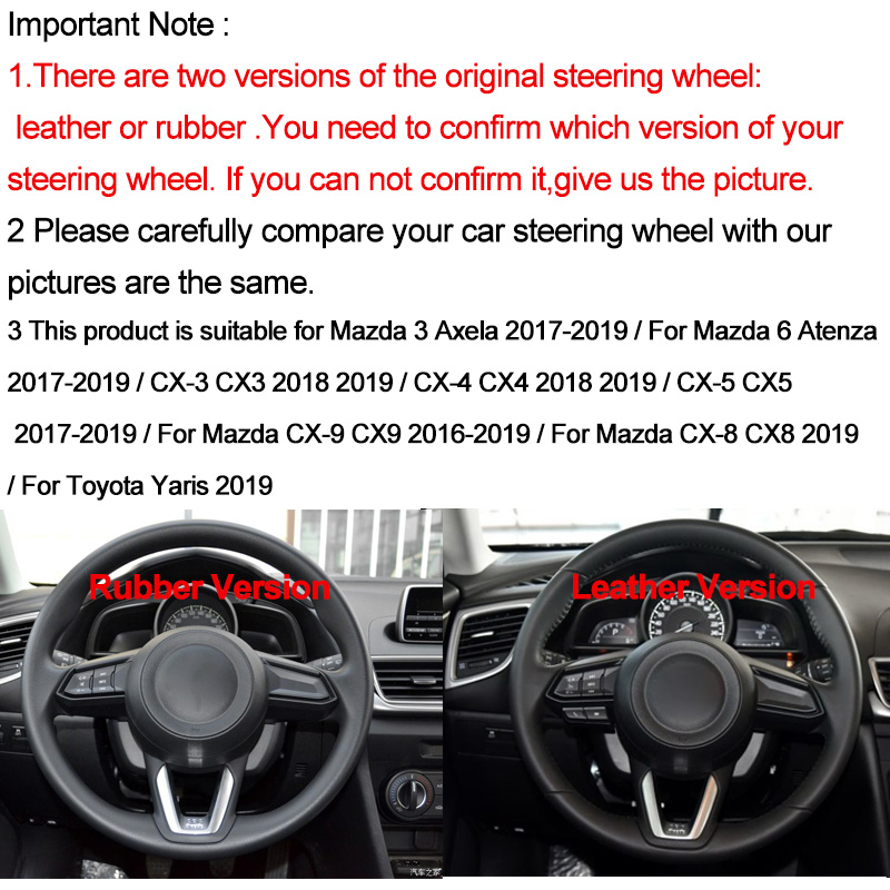 Color Name: Red Fastener /& Clip Car Engine Start Push Button Switch Cover for Mazda CX5 CX3 CX4 3 Axela M3 2014