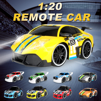 Cool And High Speed Licensed 1 20 RC Mini Car Electric Remote Control Car Toy With