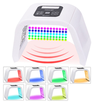 Professional PDT 7 Colors Light Led Facial Mask Photon Therapy Face Rejuvenation Machine Spa Acne Remover Anti Wrinkle Skin Care