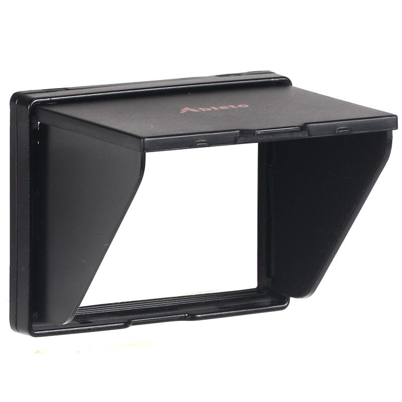 Camera Screen Hood : A lcd screen protector pop up sun shade hood shield