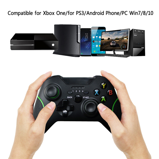 2.4G Wireless Bluetooth Controller Gamepad For Microsoft Xbox One Joystick Controle For Xbox One Console For PC Wind 7/8 Joypad