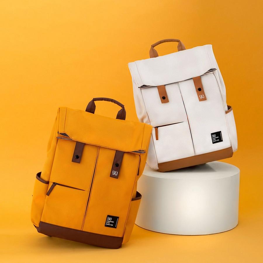 Xiaomi Youpin 90fun College School Leisure Backpack 15 6 Inch Waterproof Laptop Bag Rucksack Outdoor Travel
