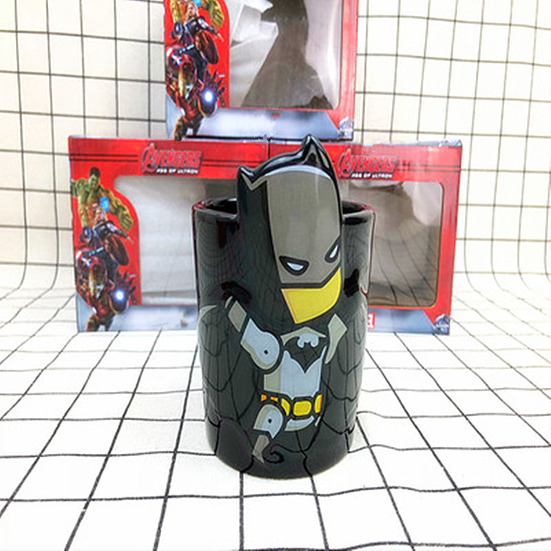 300ML The Avengers The Flash Batman Superman Stereoscopic Ceramic Mug  Action Figure Collection Model Toy M1019300ML The Avengers The Flash Batman Superman Stereoscopic Ceramic Mug  Action Figure Collection Model Toy M1019