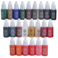 10 Colors BioTouch Permanent Makeup Cosmetic Tattoo Ink Micro Pigment Color 1/2 oz Permanent Makeup Ink Kits