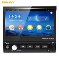 FEELDO 7inch Android 6 0 Quad Core Car GPS Bluetooth Navi Radio USB Media Player 1DIN