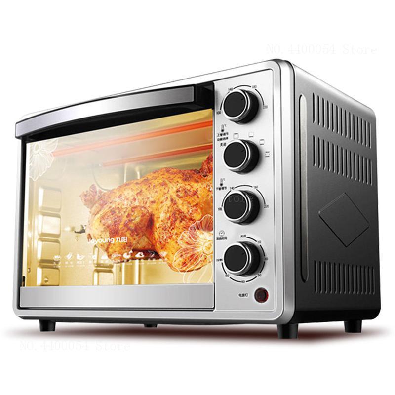 Eingebaute Mikrowellenherde Haushaltsgeräte Mini 32l Elektrische Ofen Timing Pizza Ofen Edelstahl Automatische Kuchen Makers Für Backen Mit 4 Heizung Rohr 1360 W