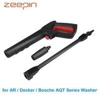 Водяной пистолет высокого давления инструмент для мойки автомобилей для AR/Decker/Bosche AQT серии шайба домашнего опрыскивателя инструменты для о...
