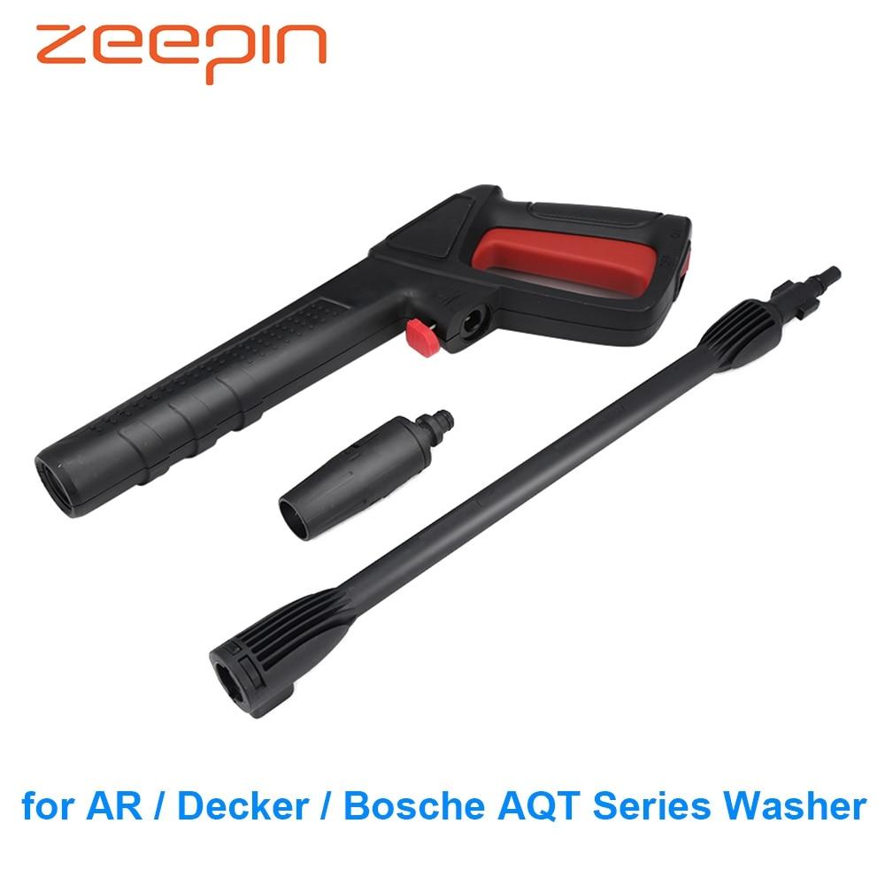 High Pressure Spray Water Gun Car Washing Tool For AR / Decker / Bosche AQT Series Washer Home Sprayer Cleaning Tools