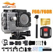 Goldfox 16mp 4 К Wi-Fi действие Камера 170d широкоугольный объектив 30 м подводный Камера Go Водонепроницаемый PRO Спорт DV велосипед шлем CAM