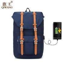 Canvas Backpack Womens Daypack Men USB Laptop Computer Bags for Travel camouflage backpack Unisex Casual Design