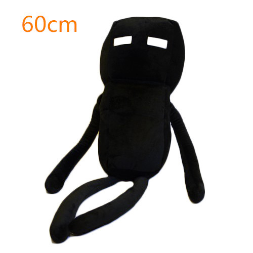 Large 60cm New Minecraft Plush Toys High Quality Minecraft Enderman Plush Stuffed Toys font b Doll