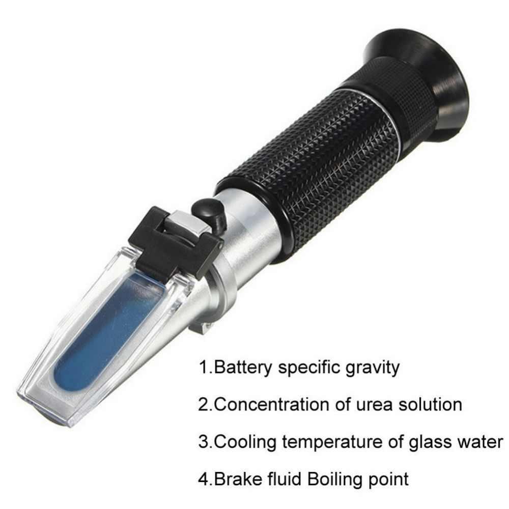 Booyah-50 ~ 0C 30-35% אוריאה ריכוז מנוע נוזל גליקול נקודת קיפאון אנטיפריז רכב סוללה Refractometer ATC