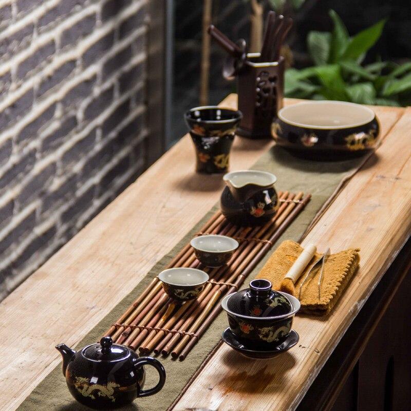 Қытай шайнек фарфоры Қызыл үйлену шай - Тағамдар, тамақтану және бар - фото 6