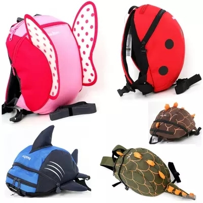 6 colors Free Ship Baby Kids Keeper Assistant Toddler Walking Wings Safety Harness Backpack Bag Strap Rein Harnesses & Leashes