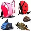 6 cores Navio Livre Do Bebê Crianças Assistente Keeper Da Criança Que Anda Safety Harness Mochila Strap Rein Arreios & Trelas Asas