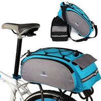 Outdoor Mtb Cycling Waterproof Pack Bags Rear Frame Bicycle Basket 13L Multifunctional Bag For Bike Fashion
