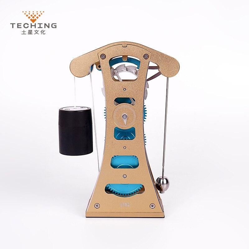 Teching Galileo МАЯТНИК Часы полный алюминий сплав сборки модель здания наборы игрушка для сбора исследований/исследование/подарок