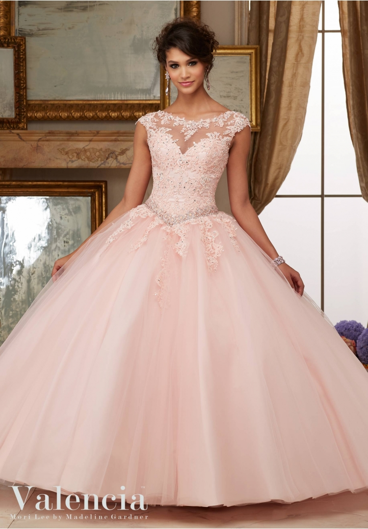 e090e2167a9 Simple Aqua Quinceanera Dresses Cheap High neck Lace Appliqued Dress ...