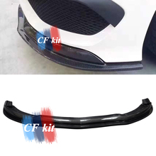 CF комплект передних губ из углеродного волокна для Mercedes-Benz W117 cl45 передний бампер для губ FD стиль 2013- автомобильный Стайлинг