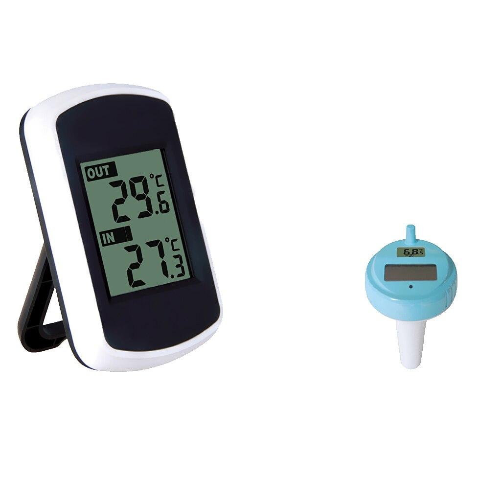 ABS plastique numérique flottant piscine thermomètre bain Spa température à distance piscine accessoires