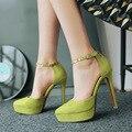 Mulheres verão Bombas SweetThin Abkle Cinta Plataforma de Salto Alto Sapatos de Salto Fino de Salto Alto Sapatos Único Alta-atendido G1539