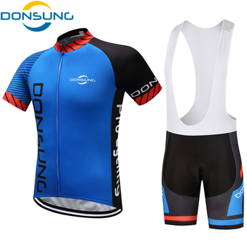 Cycling Set Men 2019 Summer Short Sleeve Mountain Bike Clothing Breathable Bicycle Jersey Set Men Clothes Maillot Ropa Ciclismo