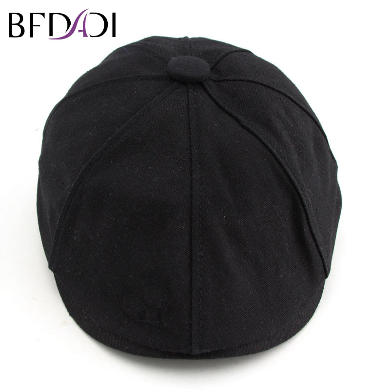 BFDADI 2018 Brand Spring and Summer Fashion Hats For Women Newsboy Caps Beret Cap Hat 5 Colors Big Size 57 58 59 60 61