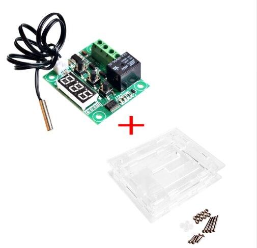 W1209 Mini termostato controlador de temperatura incubación termostato interruptor de control de temperatura