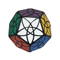 New Brand MF8 Black Bauhinia Dodecahedron Megaminx SPeed Magic Cube Puzzle Toys For Kids