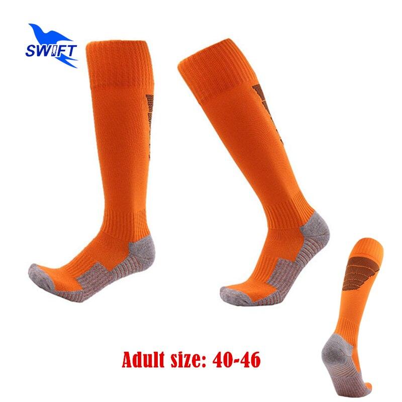 @1  Взрослый Размер 40-46 Профессиональные Футбольные Носки Мужчины Женщины Anti Slip Training Футбол Йо ①