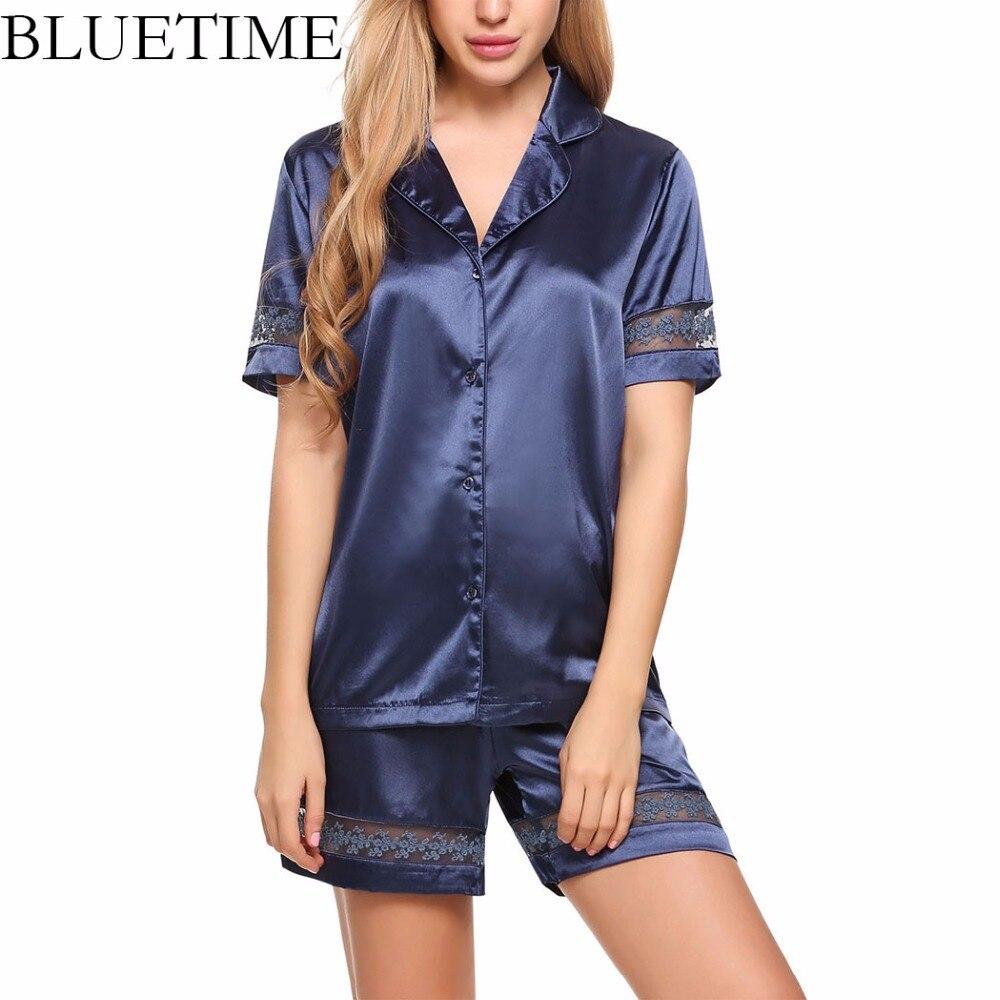 Pyjama sexy en dentelle pour femme