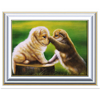 3 Styles Cute Puppy 5D DIY Diamond Painting Full Round Diamond Mosaic Sale Lovely Dog Embroidery