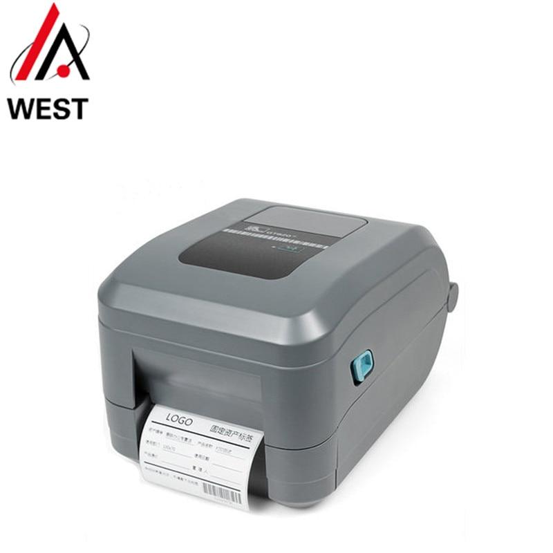 Free shipping brand new original Zebra GT800 200dpi desktop printer express label GT820 thermal transfer printer(China)