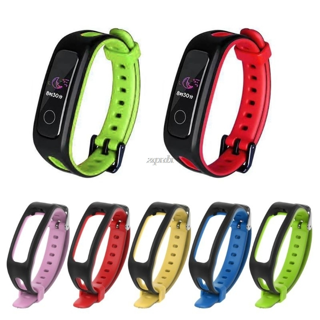 Silicone Replacement Smart Wrist Band Watch Strap For Huawei Honor Band 4 Running Version Smart