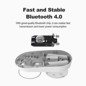 Image 3 - Original Mini Xiaomi souris sans fil 2.4 GHZ Bluetooth 4.0 Portable alliage ABS jeu souris 10 M portée de détection pour Windows7 macOS