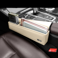 Car Styling Inner Gear Shift Side Storage Box Holder Phone Box cover For BMW 5 Series F10 F18 G30 Left hand drive Accessories