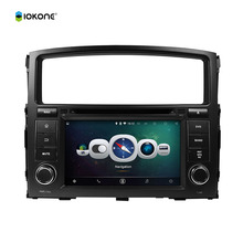 7″ Android Quad core HD Car DVD Radio Player Stereo for Mitsubishi Pajero V97 V93 GPS navigation audio system back camera CANBUS