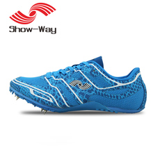 HEALT Siwei X515 new running spikes track and field sprint spikes men's competition training shoes women nail running shoe
